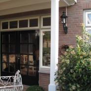 Houten terrasoverkapping en veranda
