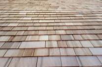 Red cedar shingles