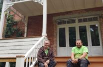 Van woonwens naar houten veranda