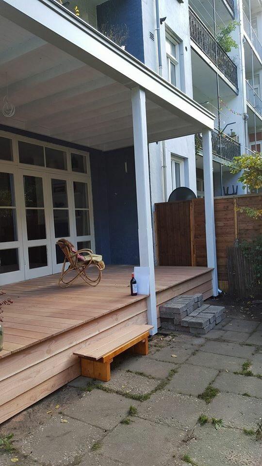 Klassieke veranda model exclusief met balustrade for Prijs veranda