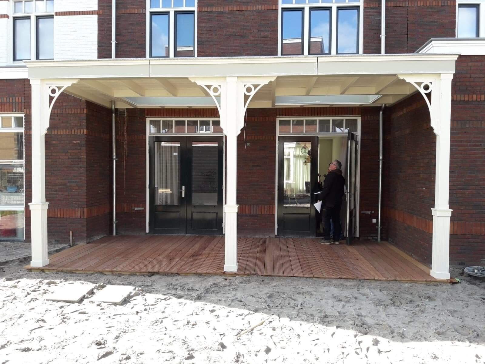 Unieke veranda