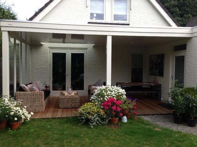 Veel extra woonruimte met een veranda