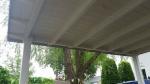 Balken en overstek veranda