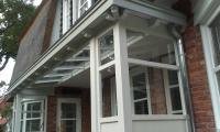 Cottage stijl met lichtstraat